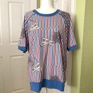 Lularoe Jane American dream collection xL